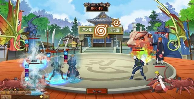 game naruto ban sac ninja